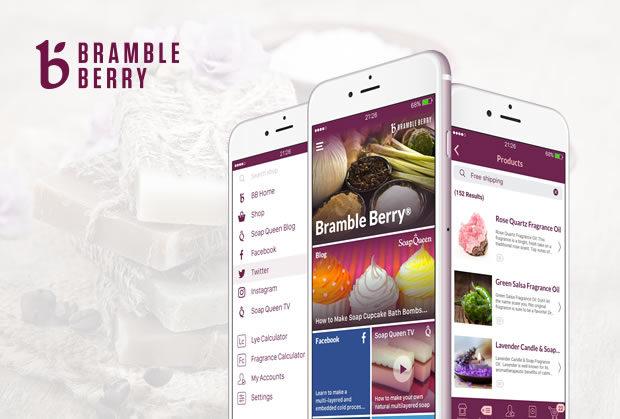 Bramble Berry – App Guide zur Seifenherstellung