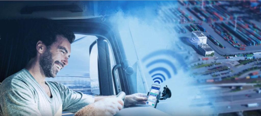 Trucker App iBeacons