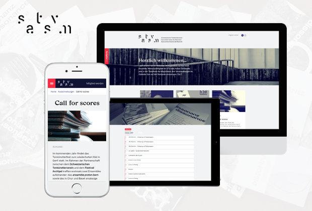 Webseite Schweizerischer Tonkünstlerverein