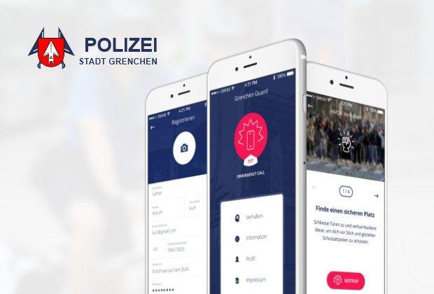 Sicherheits-App Grenchen Guard
