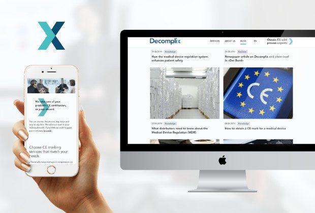 Decomplix – Webauftritt für den Zertifizierungs-Experten
