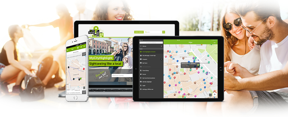 Web Entwicklung, Online Plattform MyCityHighlight