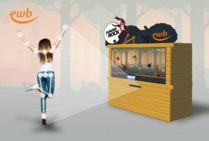 Interaktive Spiel und Fotobox