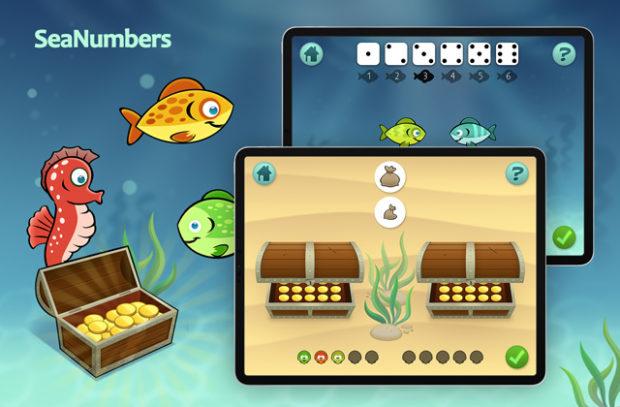 SeaNumbers Lernspiel für Kinder