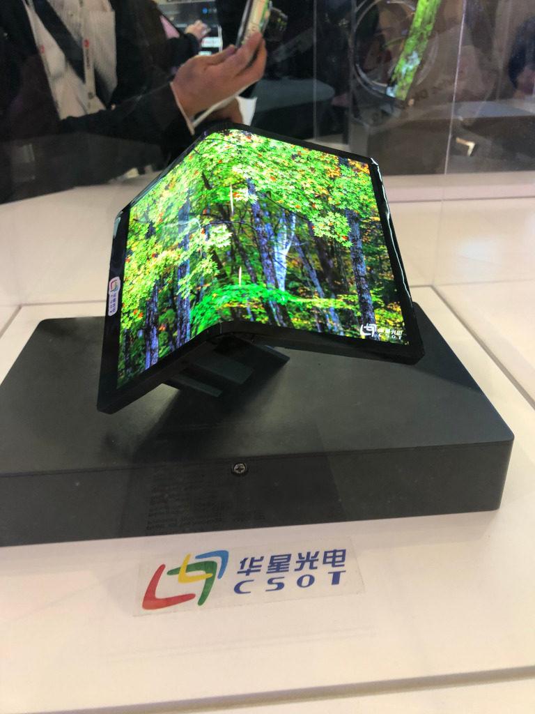 Faltbare Smartphone Displays