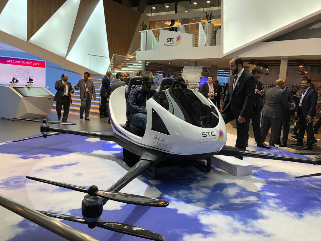 Future Mobility Drone for people