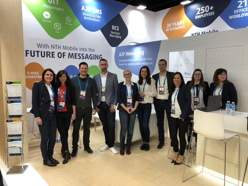 NTH am MWC in Barcelona