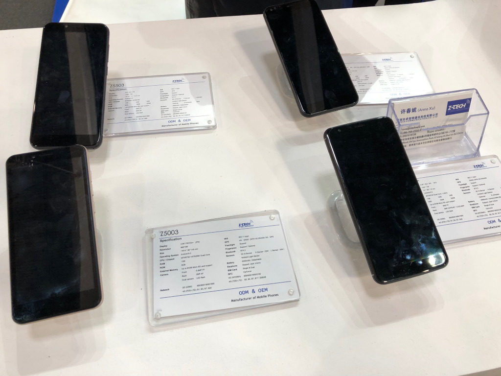 Shenzen China Smartphones