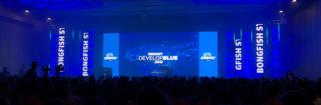 Reboot Develop Blue Kongress Opening