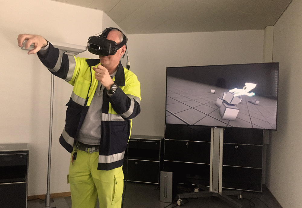 VR Leap-Motion Hands-on