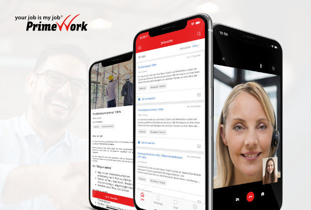 Primework App – Jobsuche & Video Interview