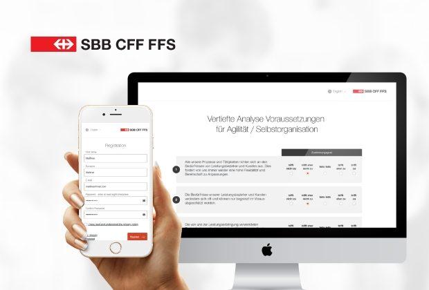 SBB Checkpoint – Befragungstool mit grafischer Auswertung