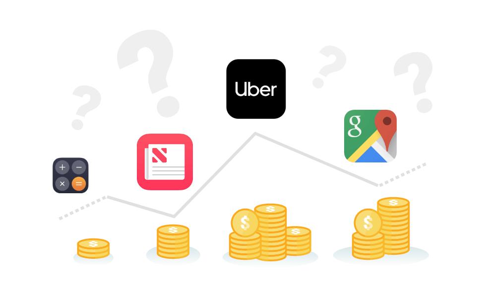 Preisspanne App Kosten