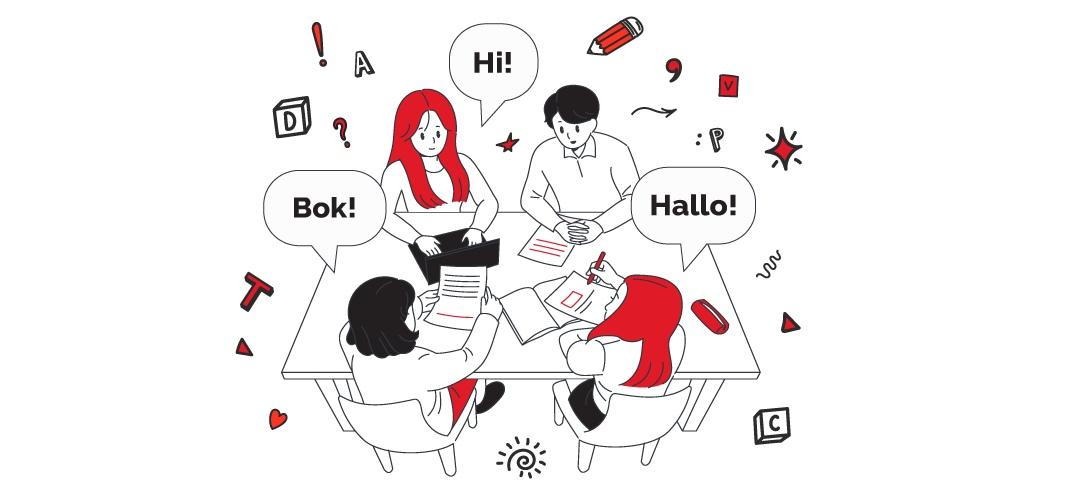 Keine Sprachbarrieren mit Outsourcing-Team