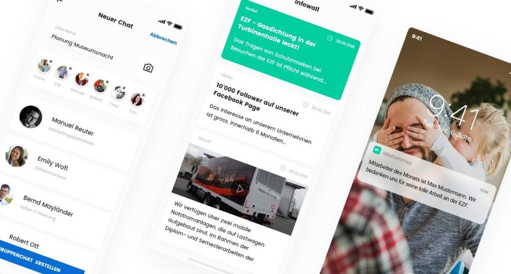 Mitarbeiter App als Kommunikationsmittel