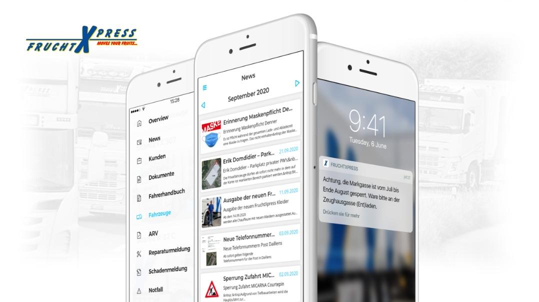 Mobile Kommunikation bei FruchtXPress