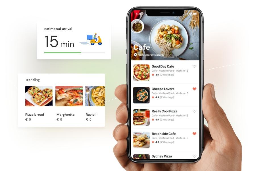 Online Lieferservice-App