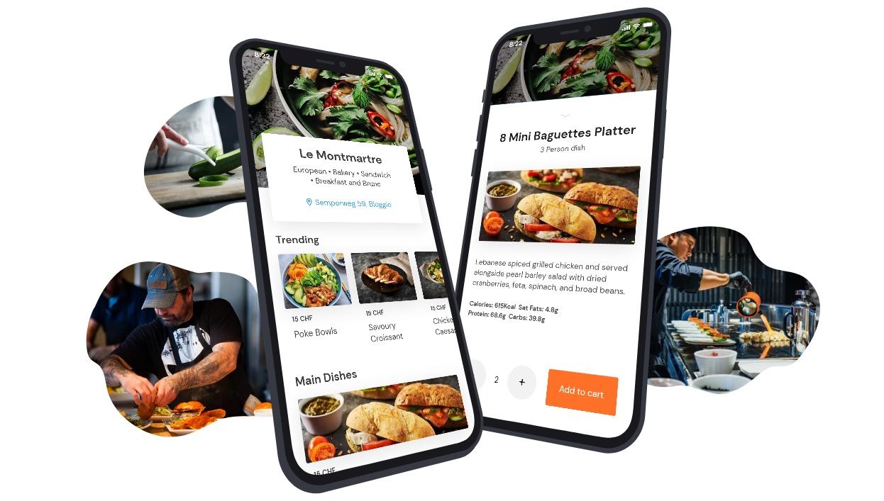 Restaurant Angebot in der App