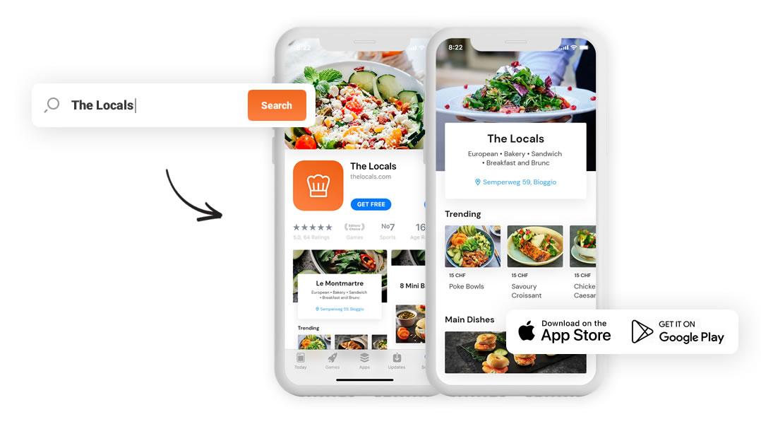 UX Design Restaurant App