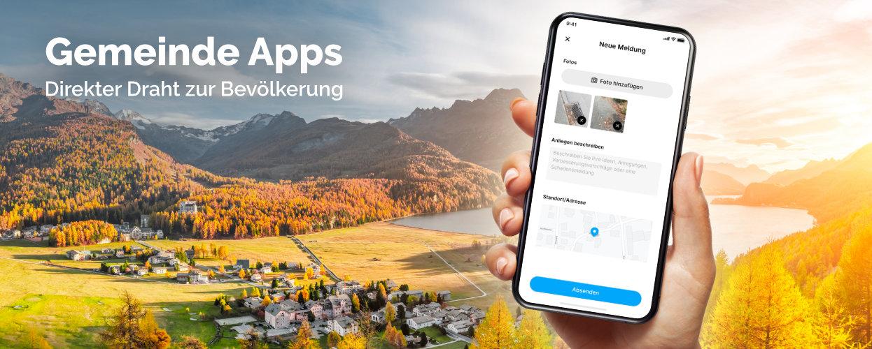 Gemeinde Apps - digitaler Draht zur Bevölkerung