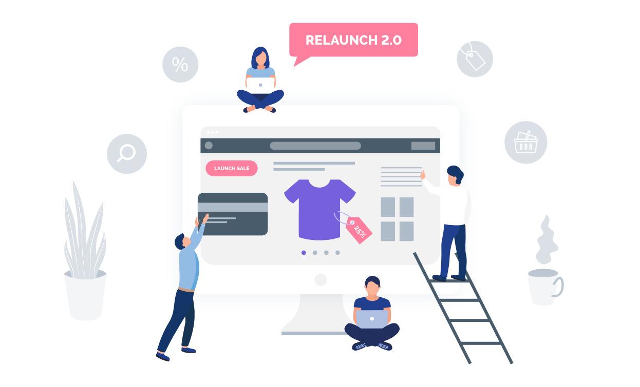 Relaunch von Webshops