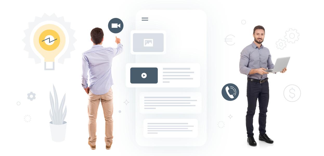 Spontane digitale Geschäftsideen