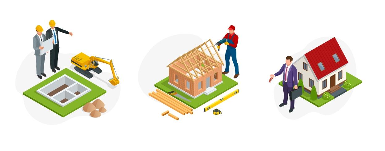 Eigenheimbau Prozess