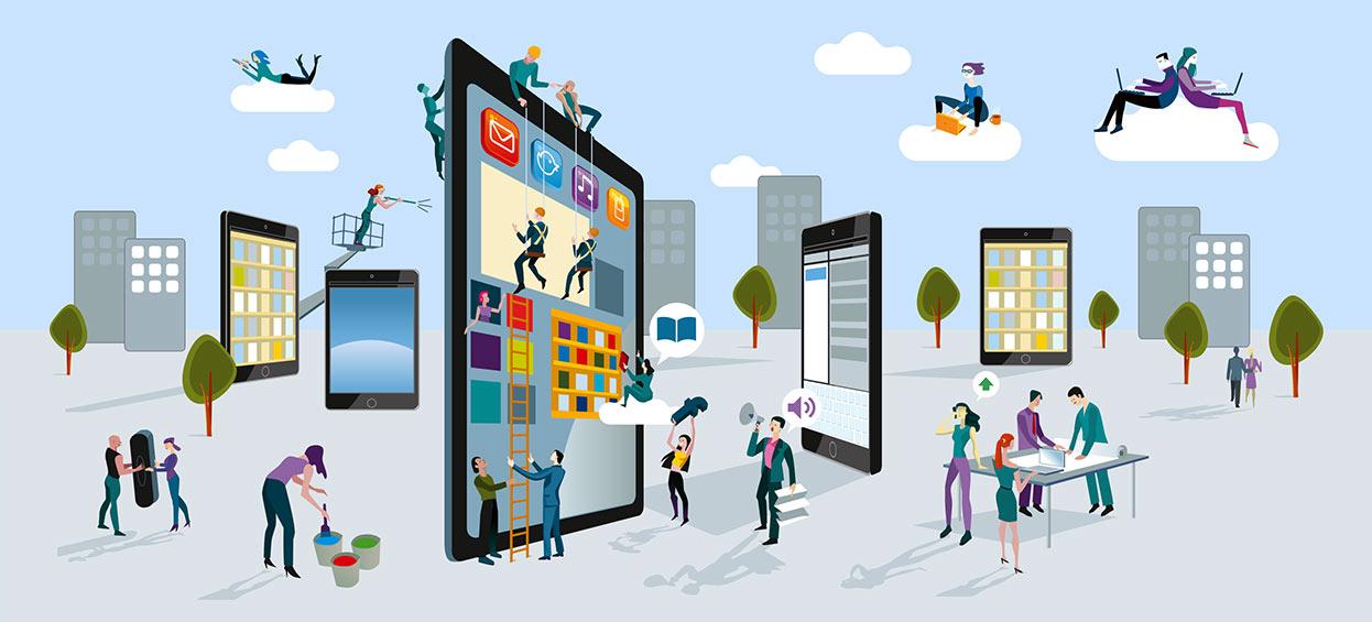 Digitales Benutzererlebnis